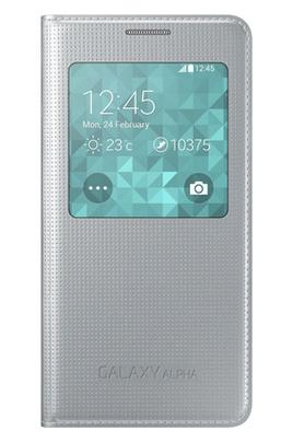 Etui S wiew cover pour Galaxy Alpha ou S5 (retrait en magasin)