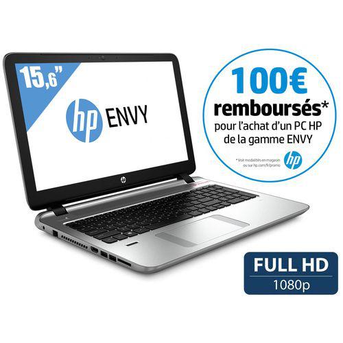 """PC portable 15.6"""" HP Envy 15-K222NF - Argent (avec ODR 100€)"""