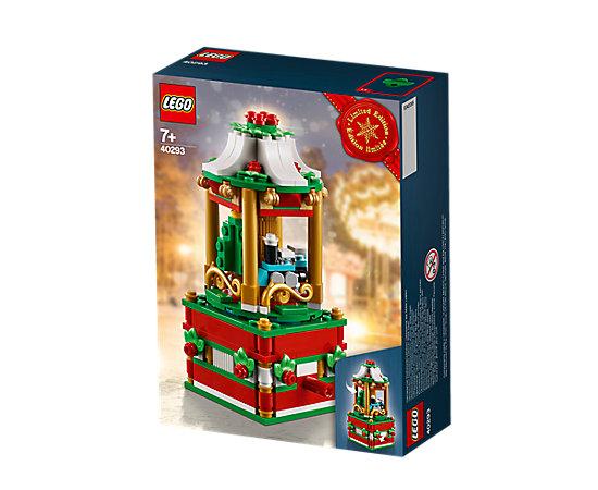 Jeu de construction Le manège de Noël (40293) gratuit dès 85€ d'achat