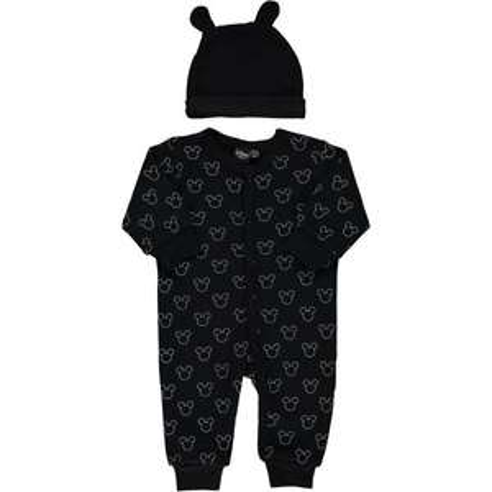 Sélection de vêtements bébés Mickey et Minnie - Ex   Dors-bien + bonnet bébé 813ae79f670