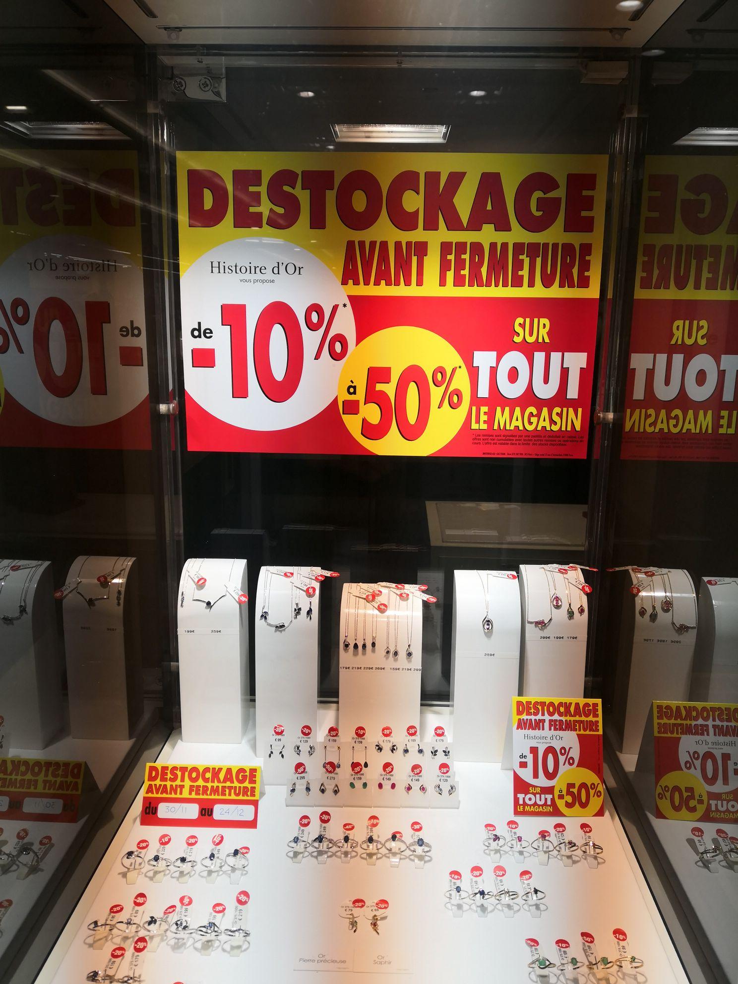 Jusqu'à 50% de réduction sur toute la boutique (Vitry Sur Seine - 94)