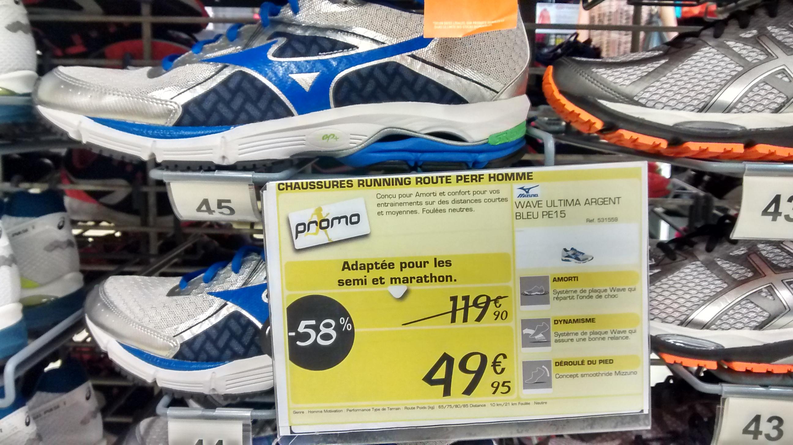 Chaussures running Mizuno Wave Ultima 6