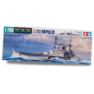 Maquette à assembler Tamiya - Croiseur anglais Repulse