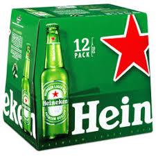 Lot de 4 Pack de bière Heineken 12x33cl - 4 x 12 x 33 cl (15,84L - via ODR Shopmium 9,25€)