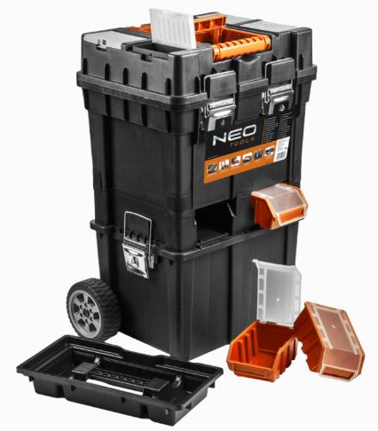 Coffre à outils sur roulette Neo Tools 84-115