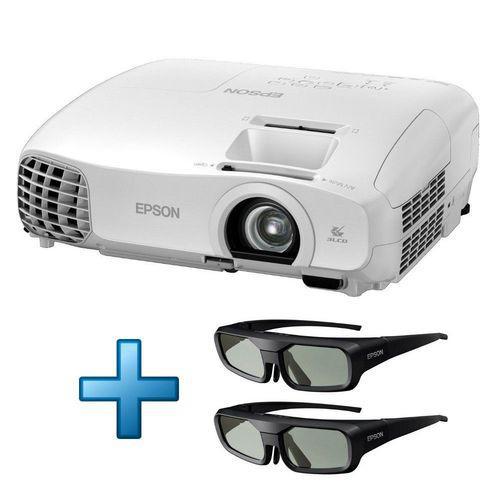 Vidéoprojecteur Epson EH-TW5100 avec 2 paires de lunettes 3D