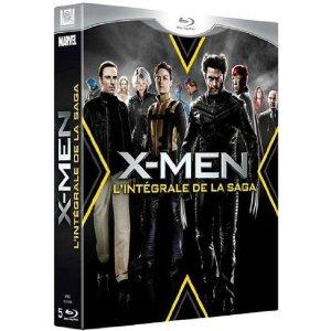 X-men, l'Intégrale - Coffret 5 Blu-ray (inclu X-Men : Le commencement)