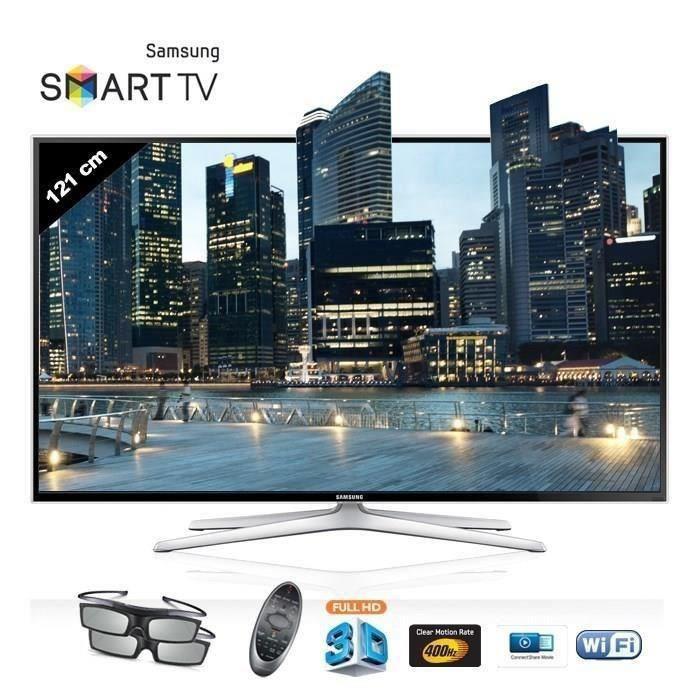 """TV 48"""" Samsung UE48H6400AWXZF Smart TV LED 3D Full HD"""