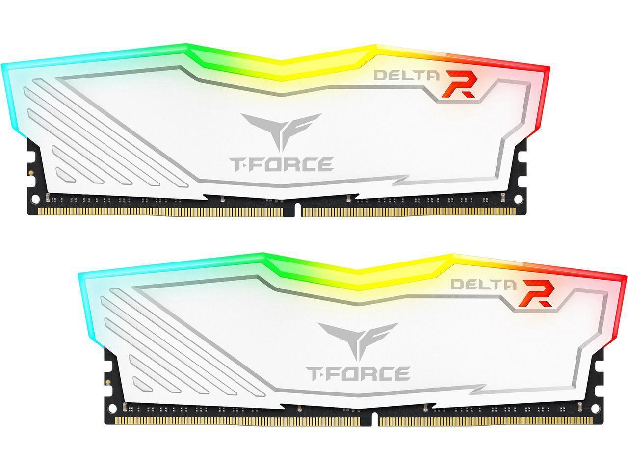 Kit Mémoire Team T-Force Delta II RGB Series 16Go (2 x 8Go) - 288-Pin DDR4 3000
