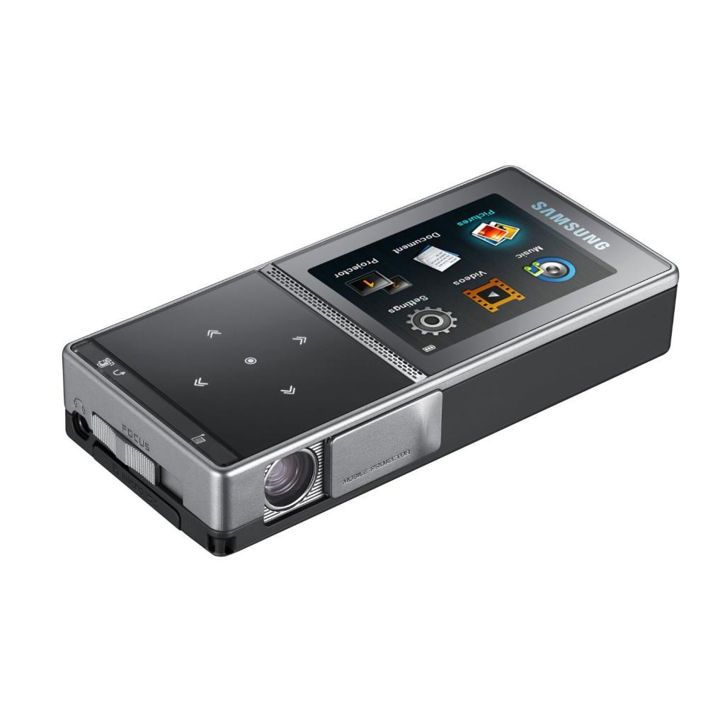 Mini projecteur Samsung MBP200 avec technologie DLP