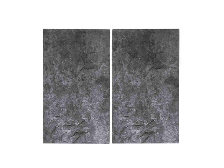 Couvre-plaques de cuisson en verre - 52 x 30 cm (Coloris au choix)