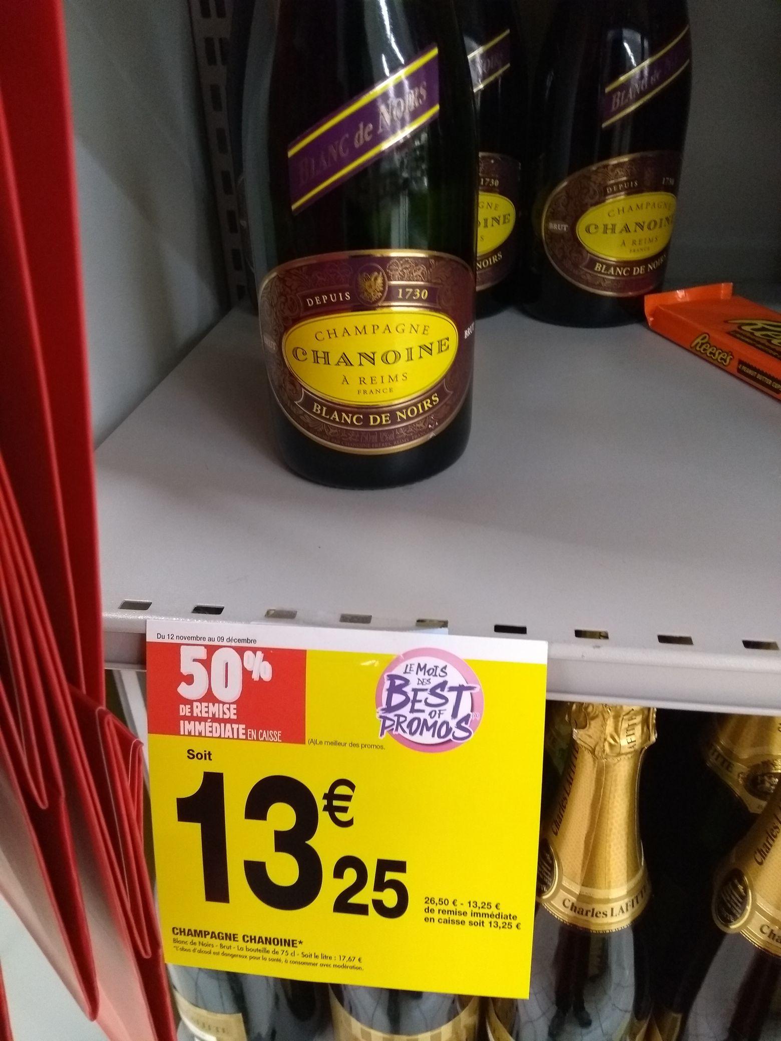 Champagne Chanoine Blanc de noir - 75cl