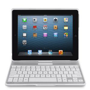 Etui + Clavier sans fil Belkin pour iPad 2/3/4 AZERTY - F5L149edWHT - Blanc