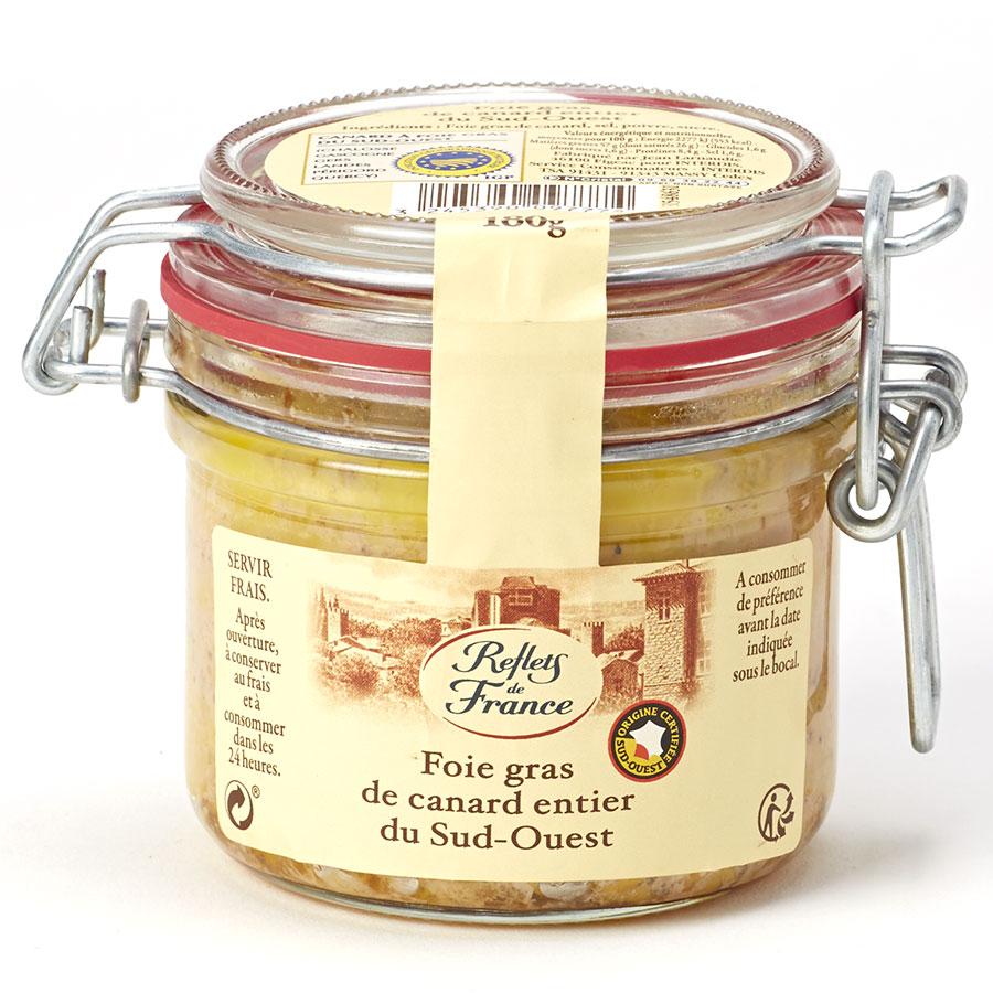 Foie gras de canard entier du sud ouest (via 4.77€ sur la carte) - Fleury-sur-Andelle (27)