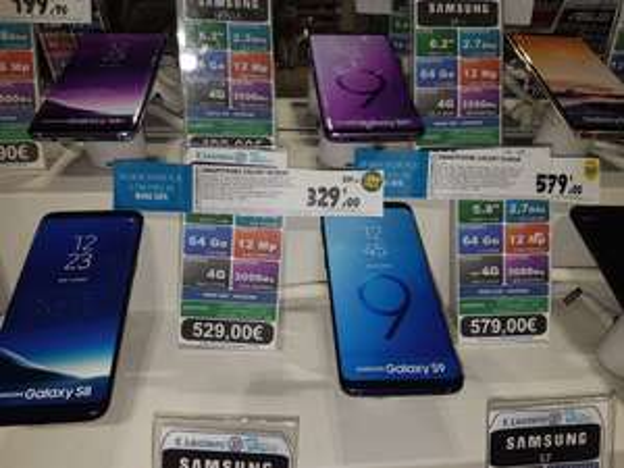 "Smartphone 5.8"" Samsung galaxy S9 (Via 200€ Ticket Leclerc + ODR de 70€) - Blagnac (31)"