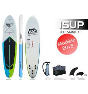 Stand Up Paddle gonflable 10´10˝  SPK-3 Aqua Marina + Pagaie 3 parties