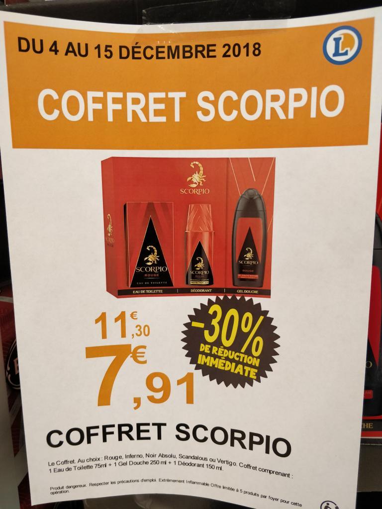 Coffret Scorpio (différents parfums) - Champfleury (51)