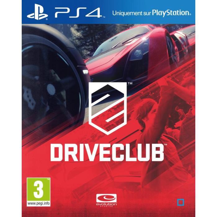 Jeu Driveclub sur PS4