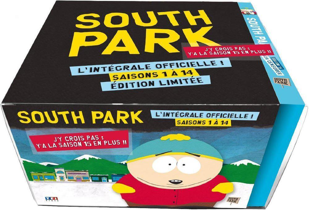 L'intégrale officielle South Park - Saisons 1 à 15 (Édition Limitée) en DVD