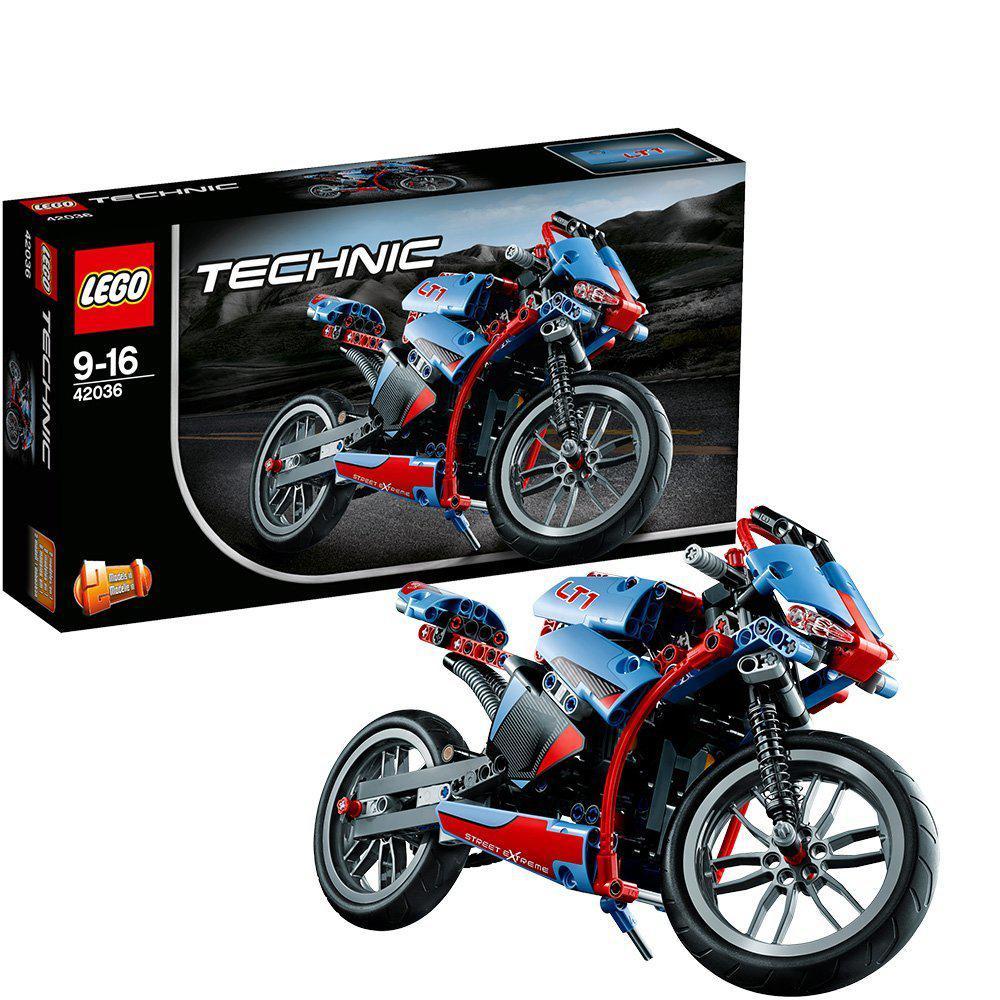 Jeu de Construction Lego Technic - 42036 - La Moto Urbaine
