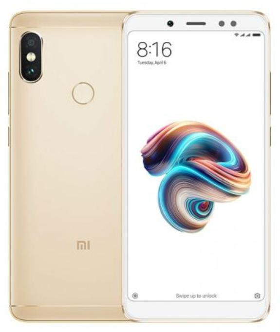 "Smartphone 5.99"" Xiaomi Redmi Note 5 Or - Full HD+, SnapDragon 636, RAM 4Go, 64Go, 4G (B20)"