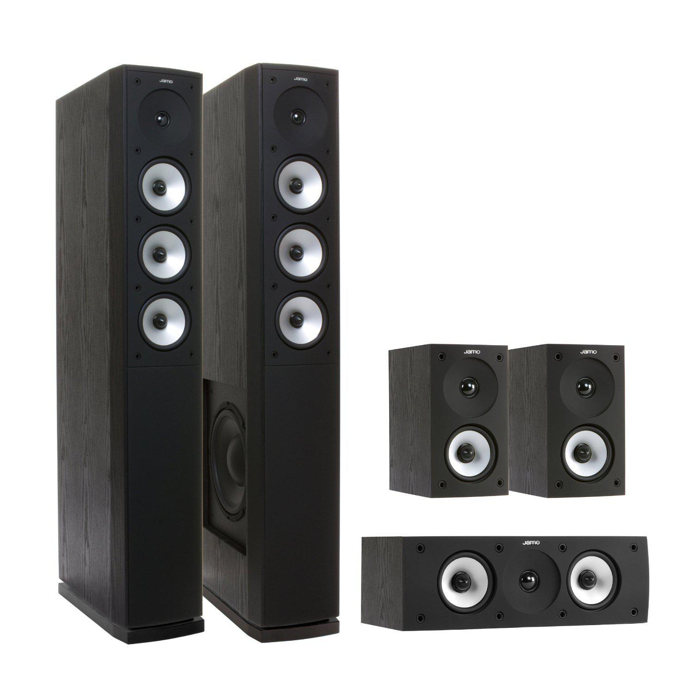 Pack d'enceintes 5.1 Jamo Studio S628 HCS Noir