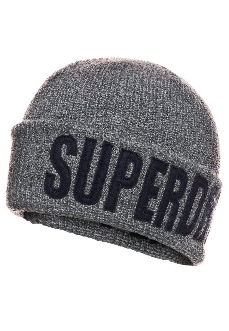 Bonnet Superdry Gris
