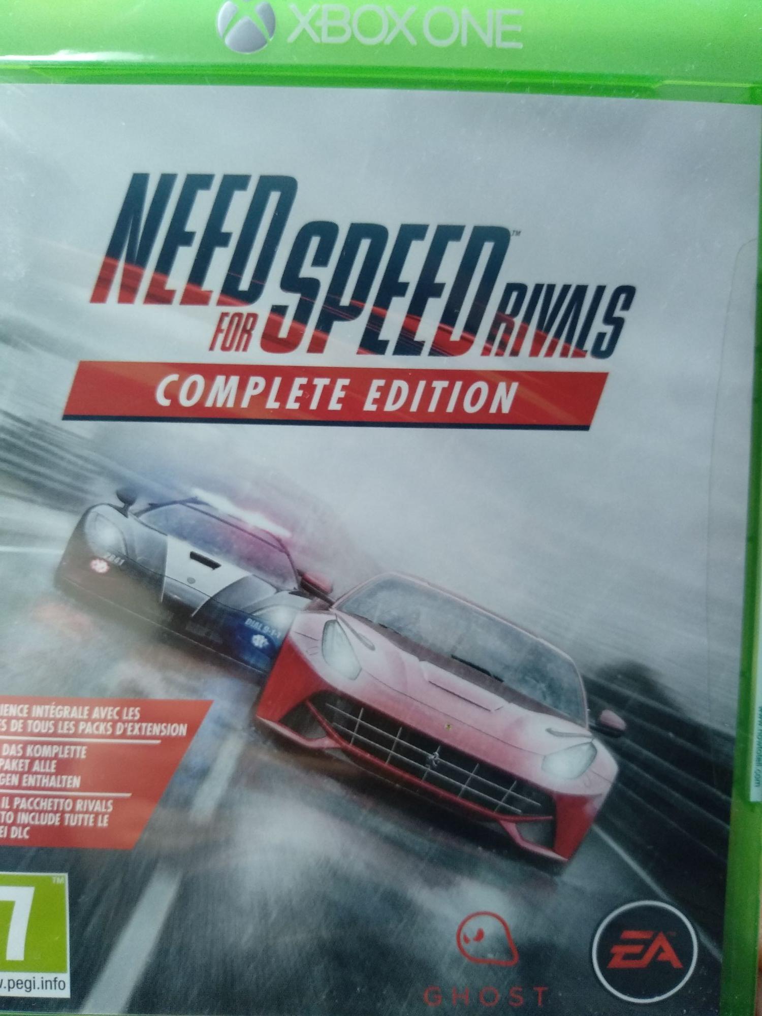 Sélection de jeux vidéo en promotion - Ex : Need for Speed: Rivals - Édition Complete - Chambly (60)