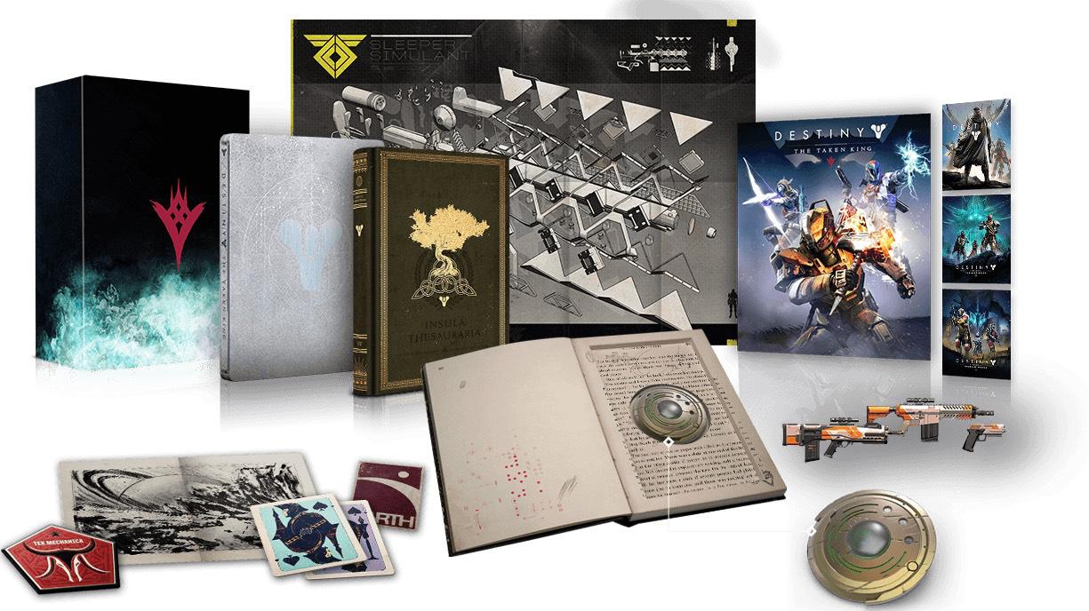 Précommande: Jeu Destiny le roi des corrompus sur PS4 - Collector
