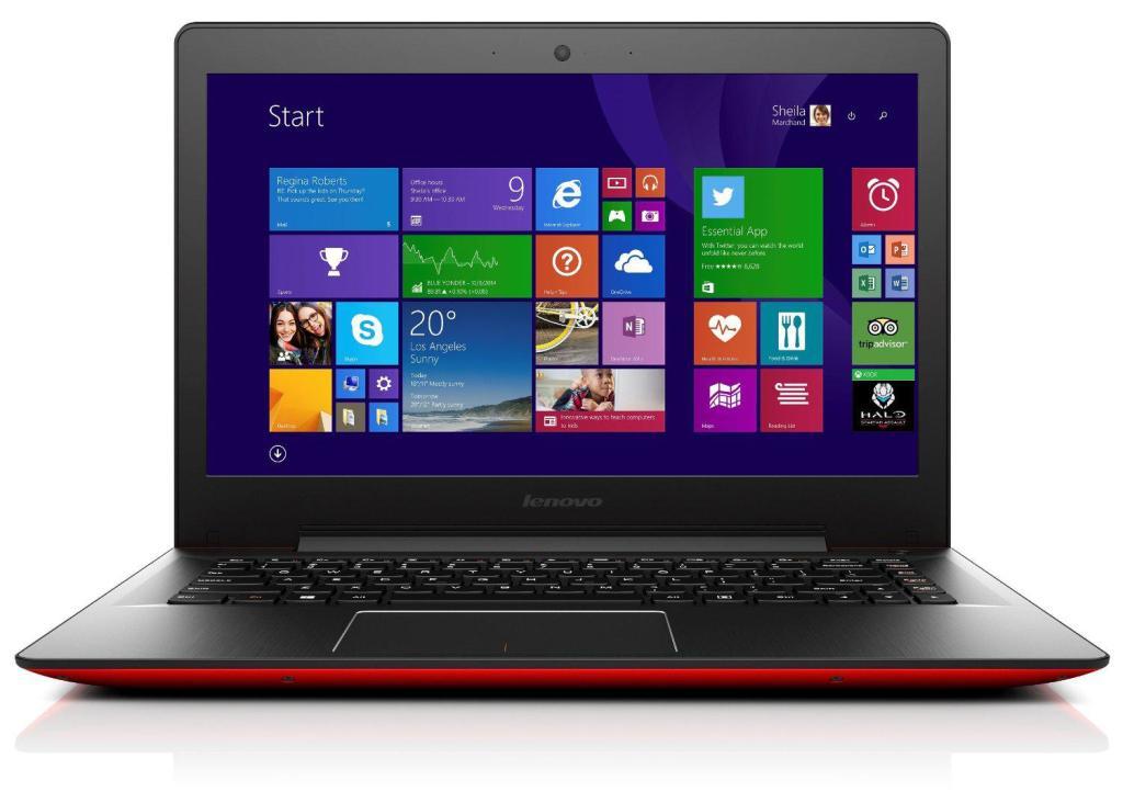 "PC Portable 14"" Lenovo U41-70 - Rouge (Via ODR TVA)"