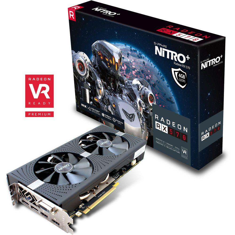 [Prime IT] Carte graphique AMD RX 570 Sapphire Nitro+ - 4 Go