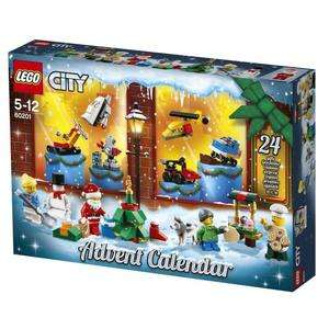 Jeu de construction Lego City Le calendrier de l'Avent O City (60201)