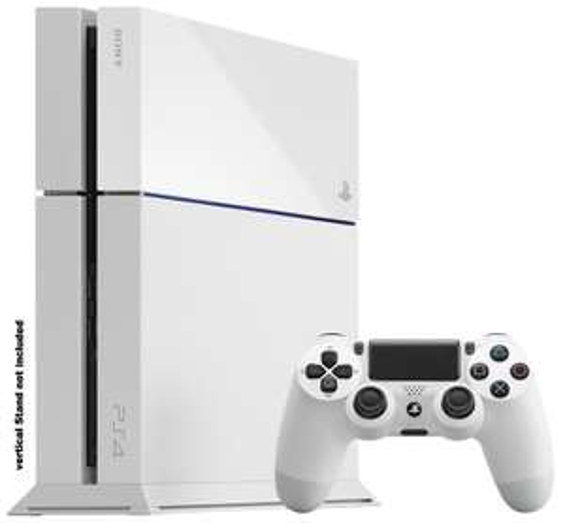 Console Sony Playstation 4 - 500Go - Blanche en magasin