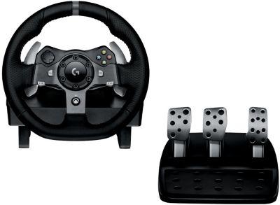 Volant Logitech G920 PC ou Xbox One + Pédalier + Levier de vitesses