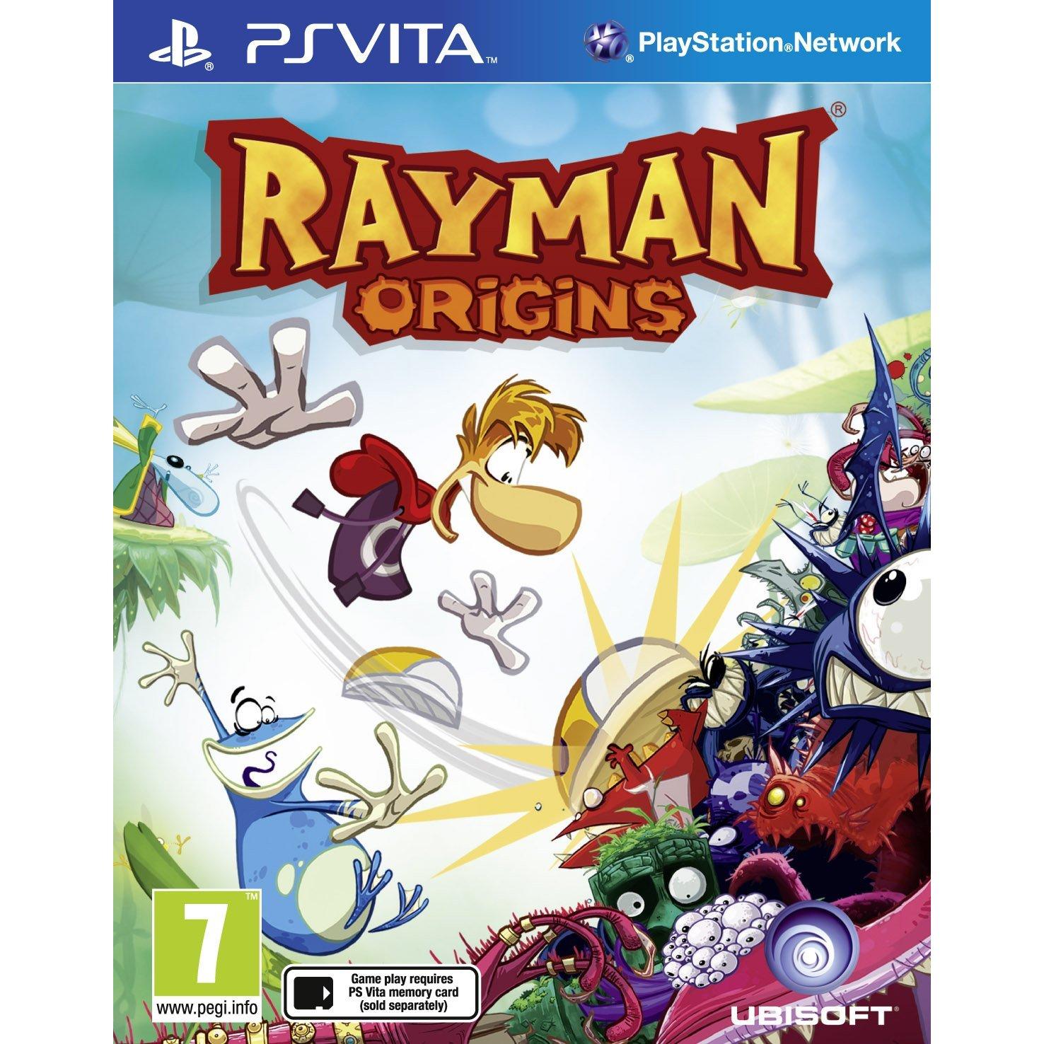 Rayman Origins sur Wii à 9.74€ et sur PS Vita