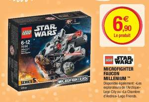 Jeu de construction Lego microfighter starwars faucon millenium n°75193