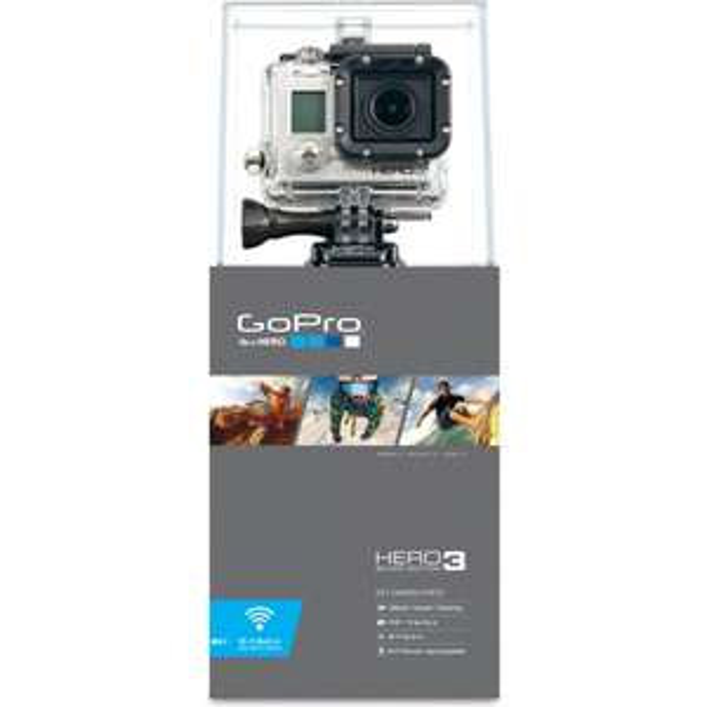GoPro HD3 Silver Edition