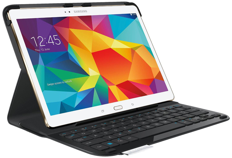 """Etui-Folio avec Clavier Logitech Type-S pour Samsung Galaxy Tab S 10.5"""" - Noir"""