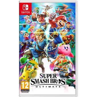 Super Smash Bros Ultimate sur Nintendo Switch (Via BDR + 5€ sur la Carte de Fidélité)