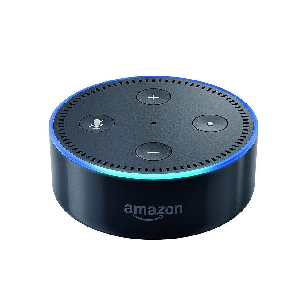 Enceinte connectée Amazon Echo Dot (2ème génération) avec Alexa - Blanc ou Noir