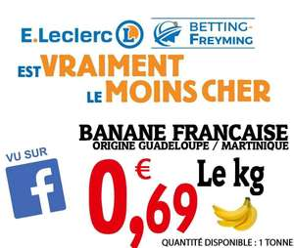1 kilo de Bananes  - Freyming (57)