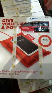 Chargeur induction Nokia Fatboy - Rouge