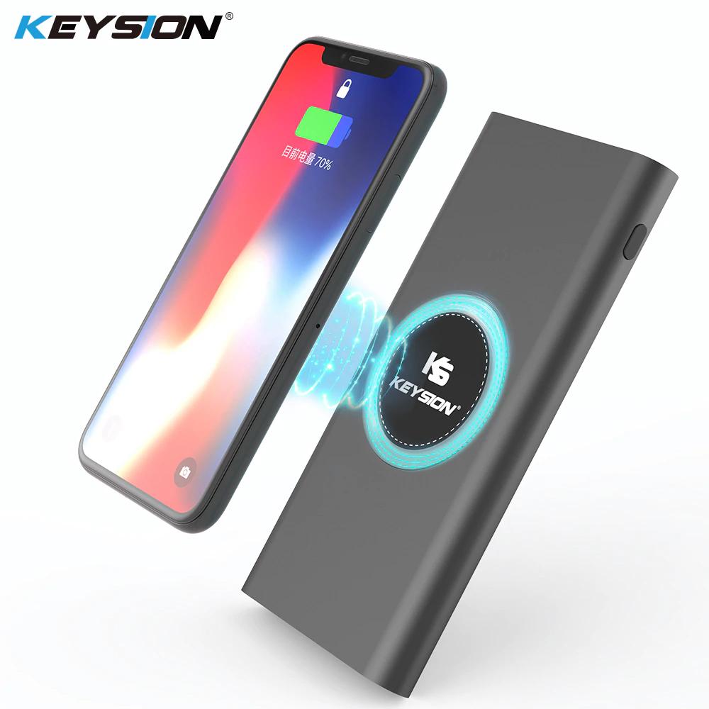 Batterie externe Keysion avec Recharge sans-fil - 10000mAh