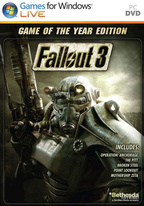 Fallout 3 GOTY sur PC (Dématérialisé - Steam)