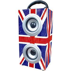 Mini tour enceinte bluetooth UK Grunge  ou Paris