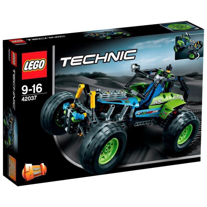 Promotion sur une sélection de Lego - Ex: Lego Technic 42037: Le bolide tout-terrain