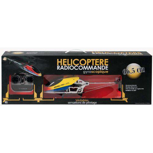 Hélicoptère Gyroscopique RC 3 voies MGM - 66,5 cm