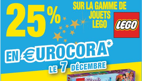 25% en offerts sur la carte sur tous les Lego - Caen (14)