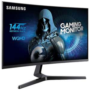 "Ecran PC 27"" Samsung C27JG50 - Dalle Matte VA, 2560x1440 (WQHD), 144Hz, 4ms (Via ODR de 48,52€)"