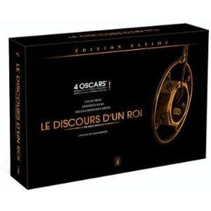 Le discours d'un roi - Edition Ultime / BluRay + DVD + Livre + Affiche